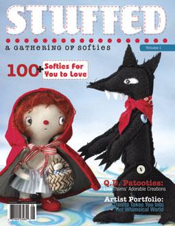 Stuffed magazine cover
