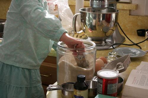 Mariam baking