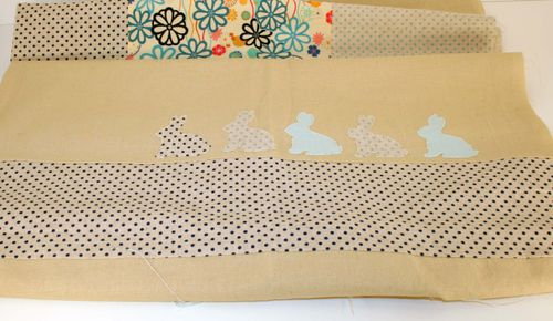 Bunny quilt top 2