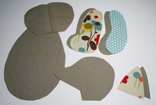 Fox pattern fabric