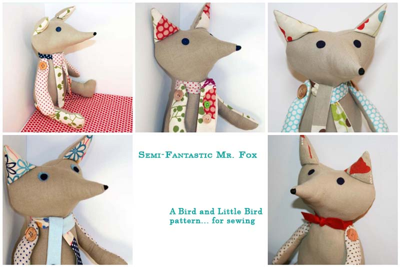 Semi-Fantastic Mr. Fox: The Sewing Pattern - Bird and Little Bird