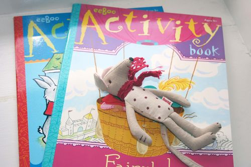 Mouse and activity books