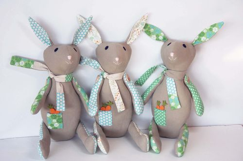Trio of rabbits