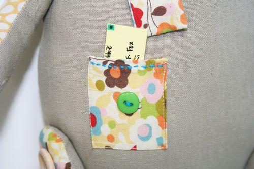 Letter pocket