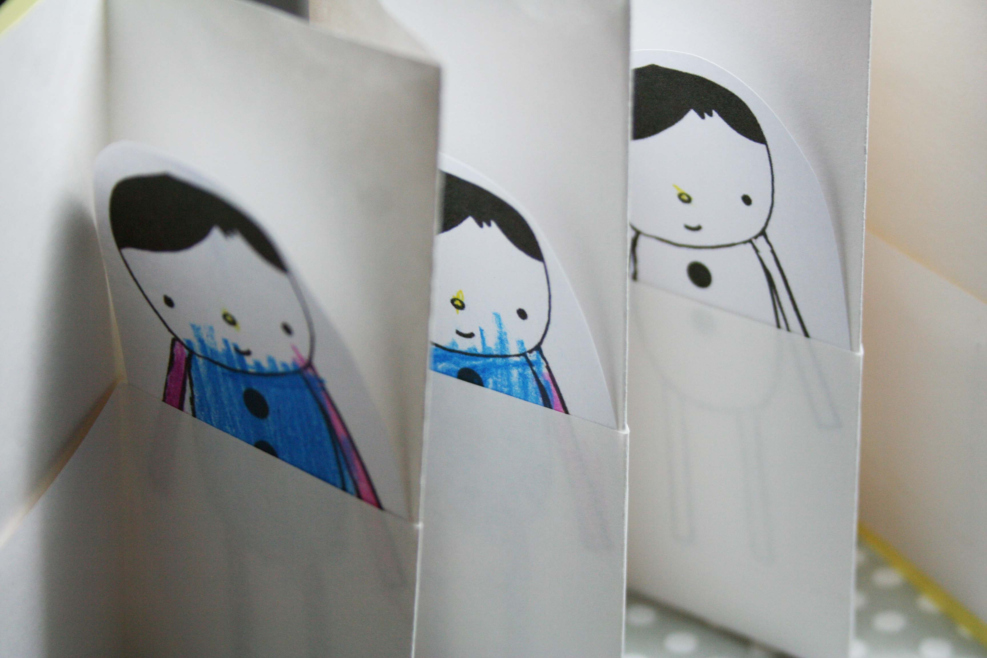 Bookmaking With Children Accordion Books With Pockets Bird And