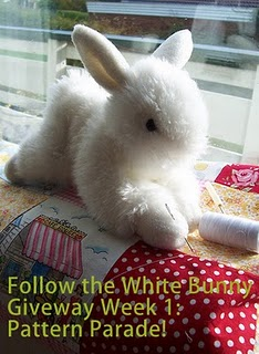 Follow the white bunny giveaway