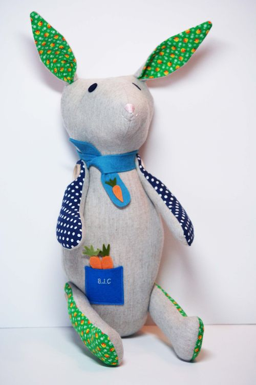 Wool rabbit for tracy