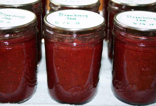 Strawberry jame
