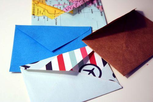 Tiny envelopes 2