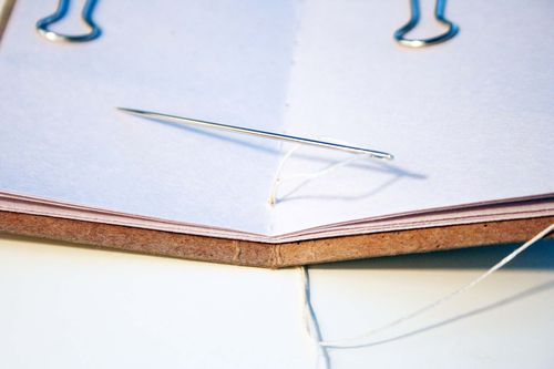 Center stitched book 6