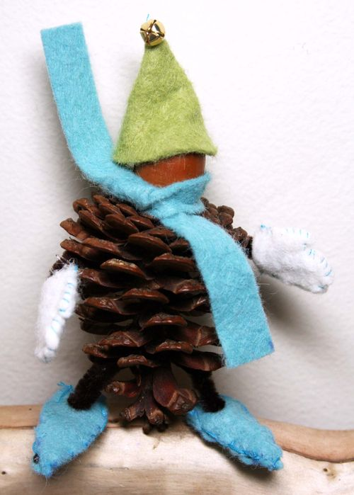 Pinecone person