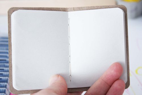 Center stitched book 12