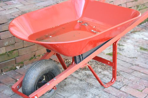 Red wheelbarrow 2