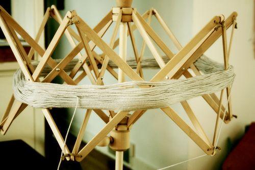 Yarn swift