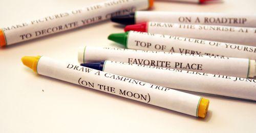 Creativity crayons